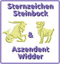 sternzeichen steinbock aszendent widder. Black Bedroom Furniture Sets. Home Design Ideas