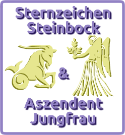 sternzeichen steinbock aszendent jungfrau. Black Bedroom Furniture Sets. Home Design Ideas
