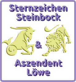 sternzeichen steinbock aszendent l we. Black Bedroom Furniture Sets. Home Design Ideas